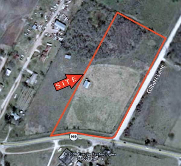7.343 Acres on FM 969