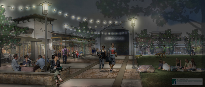 Hutto_co-op_-_interior_rendering_of_grounds-night_time
