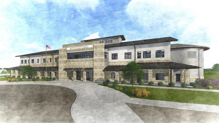 Hutto-city-hall-rendering