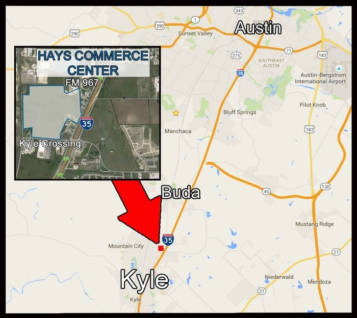 Map Of Texas Kyle.18700 Interstate 35 Kyle Tx 78640